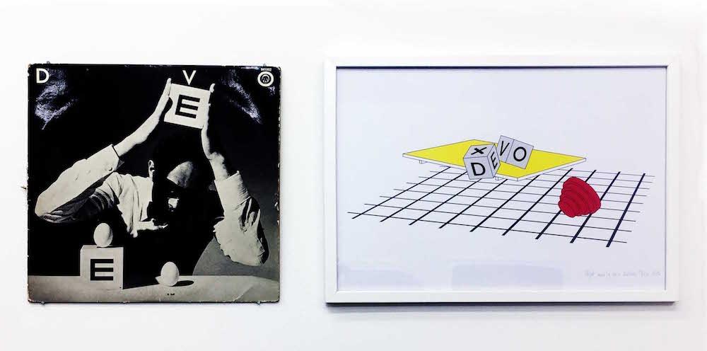 Quentin Lefranc - Vue d'exposition Dessins perturbateurs - Galerie Metropolis Paris