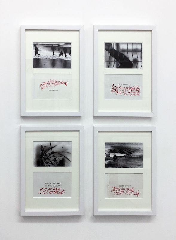 Isabelle Levenez - Vue d'exposition Dessins perturbateurs - Galerie Metropolis Paris