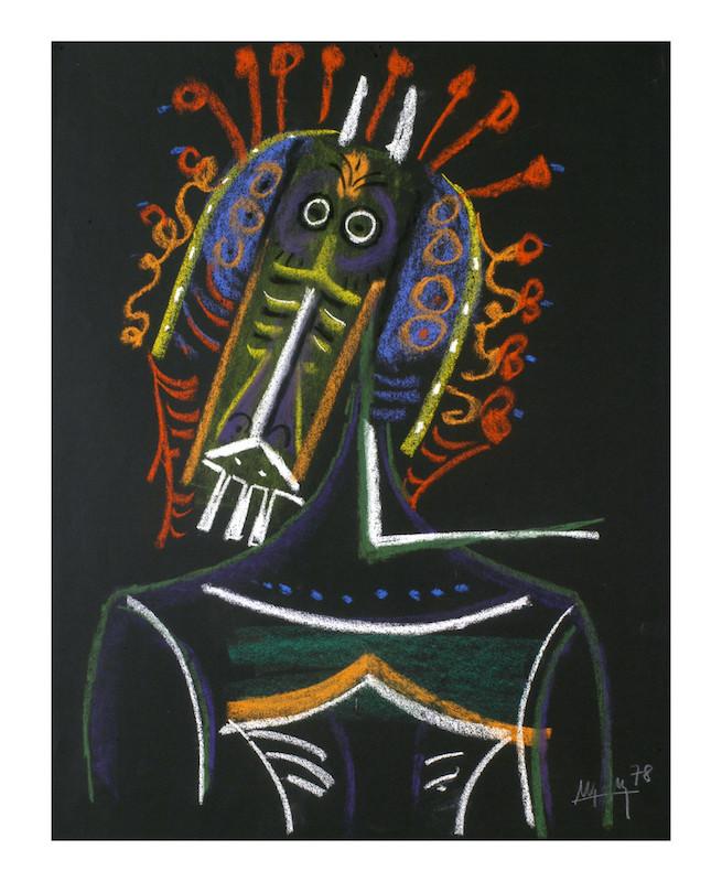 Wifredo Lam, Sikaneka, 1978 - Galerie Thessa Herold