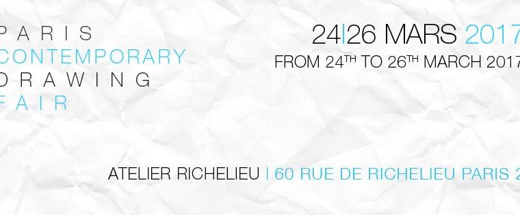 [AGENDA] 24→26.03 – DDESSIN {17} – Atelier Richelieu Paris