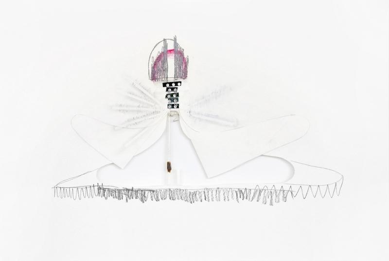 Delphine Pouillé, Sans titre, dessin, 2017.