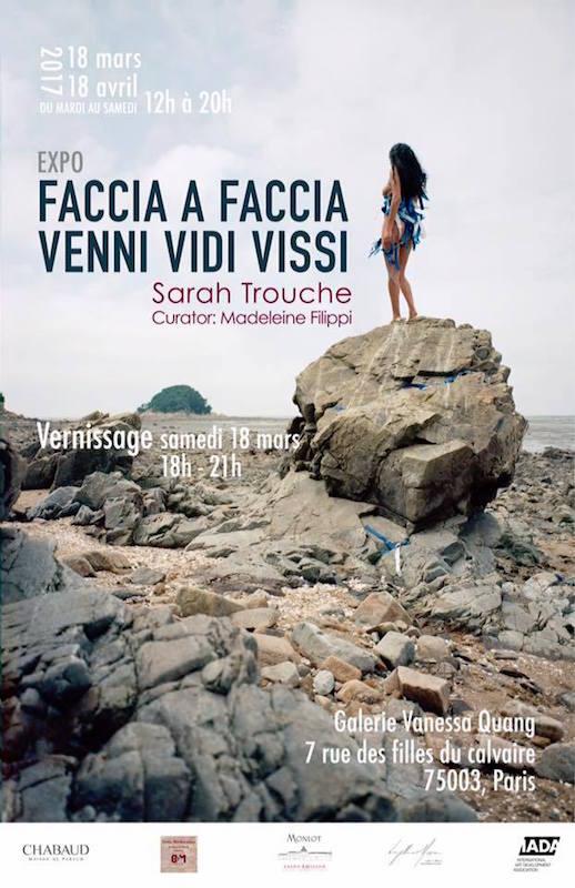[AGENDA] 18.03→18.04 – Sarah Trouche – Faccia a Faccia, venni, vidi, vissi – Galerie Vanessa Quang