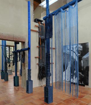 Vue d'exposition Les épis Girardons - Moly-Sabata