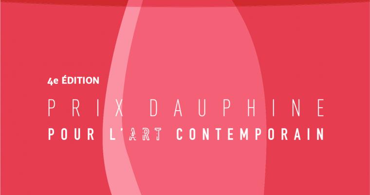 [PRIX] Le Prix Dauphine pour l'art contemporain