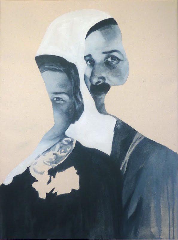 Giulia Andreani Abschied II, 2015, acrylique sur toile, 81 x 60 cm
