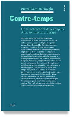 [LIVRES⎮ESSAI] Contre-temps, Pierre-Damien Huyghe, B42