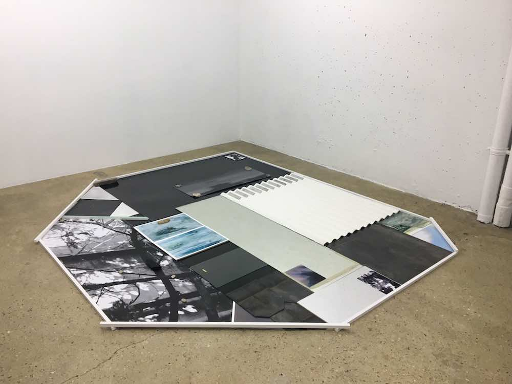 Sophie KItching, Home grown garden 3, 2017. Techniques mixtes, dimensions variables.