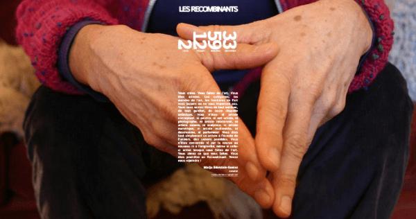 [APPEL À PROJETS] EXPOSITION EN LIGNE– LES RECOMBINANTS
