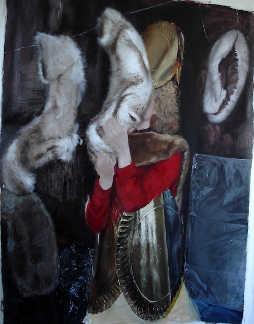 Teodora Axente, Ramona, 2013, huile sur toile, 80 x 60 cm