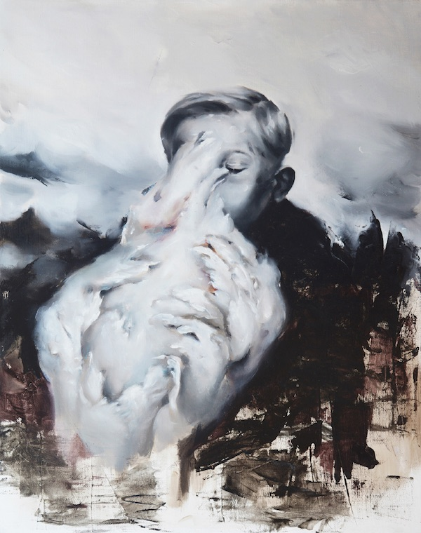 Flavia Pitis, Only Life, 2015, huile sur toile, 60 x 76 cm
