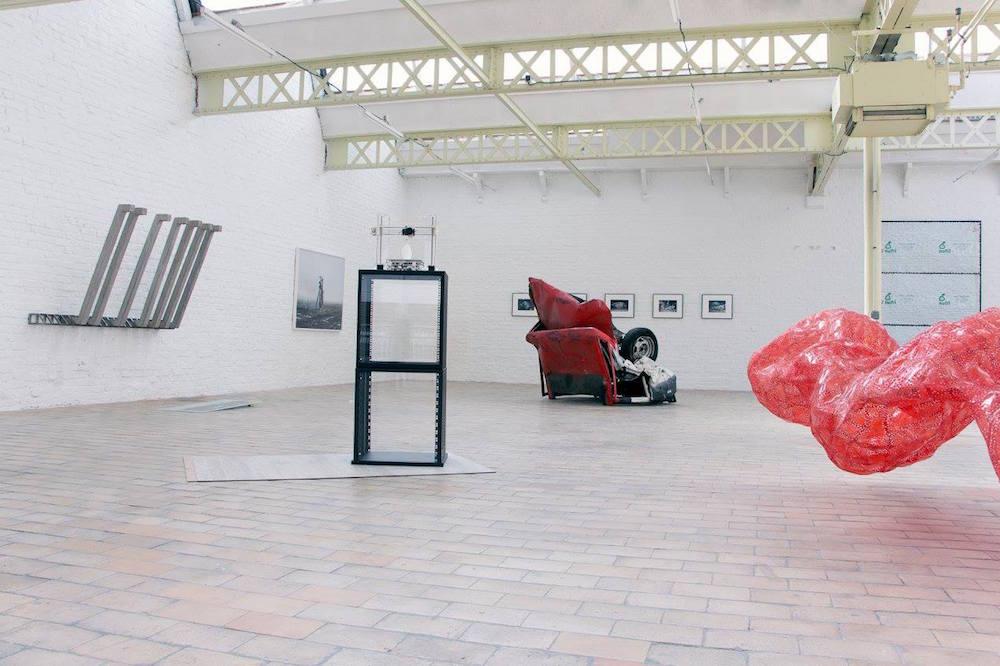 Vue d'exposition Construire / Déconstruire, Studio Delta, Roubaix