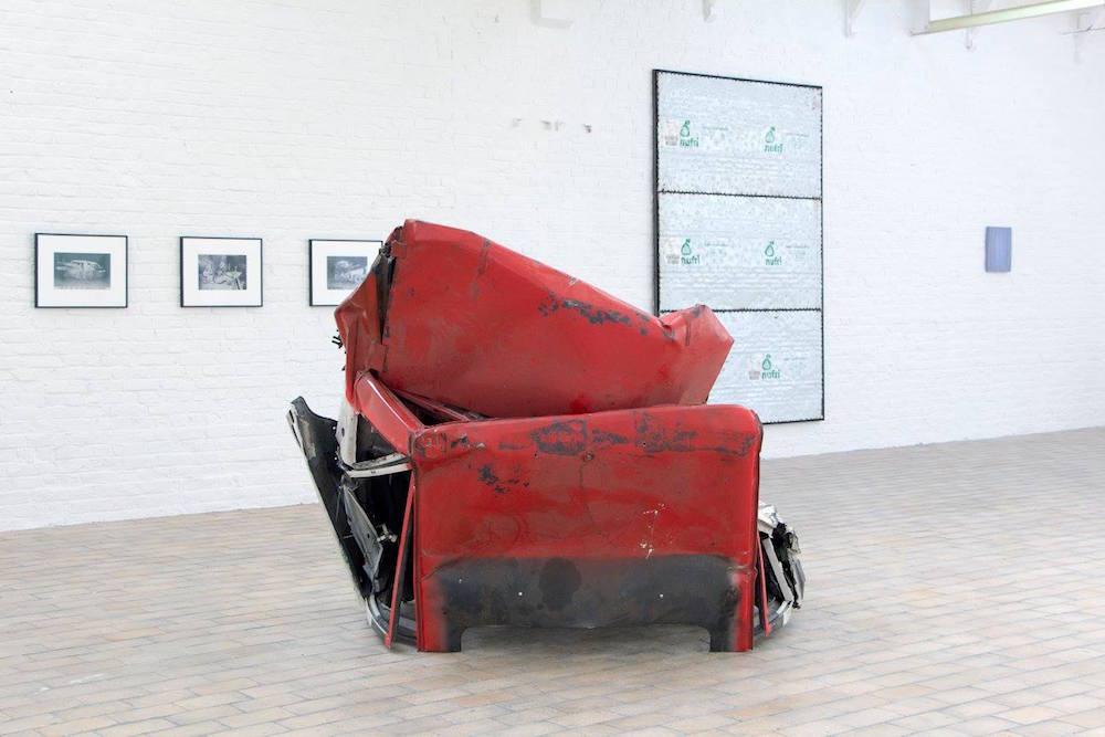 Edith Dekyndt, Kevin Rouillard Exposition Construire / Déconstruire Espace Delta Roubaix
