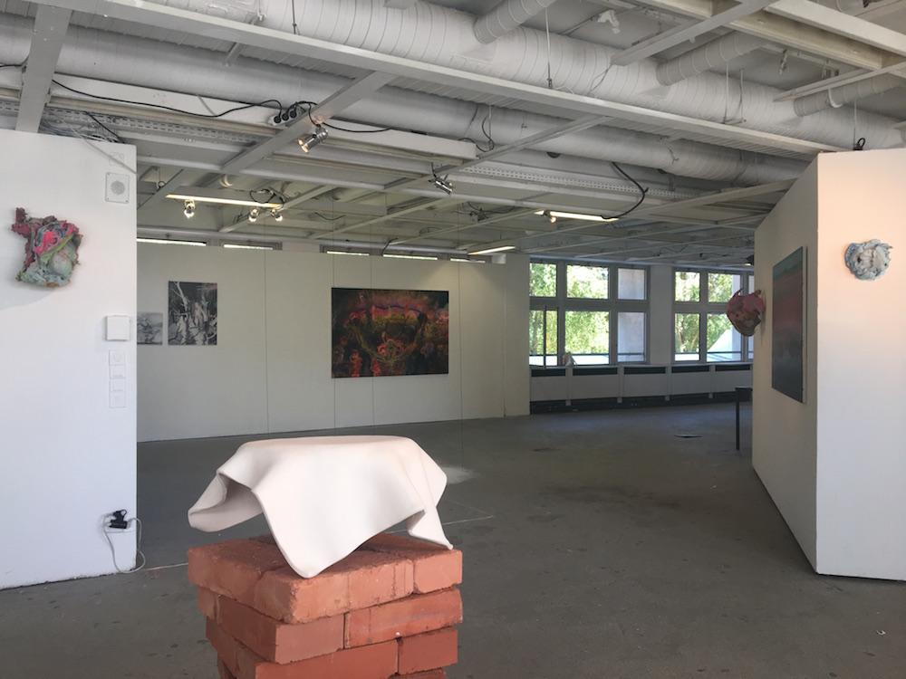 Vue d'exposition Vaisseau Fantôme au 6b