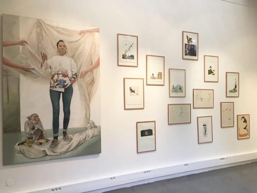 Exposition Les félicités des Beaux Arts de Paris, Seuls ensemble à la H Gallery Paris