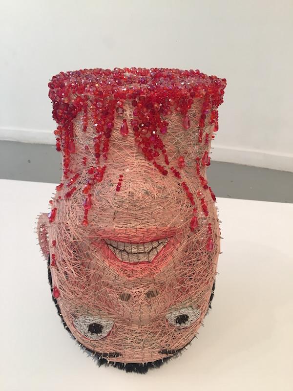 Kun Kang Vue d'exposition CONFRONTATION Haeji Lim et Kun Kang Galerie du CROUS Paris. Photo : Point contemporain