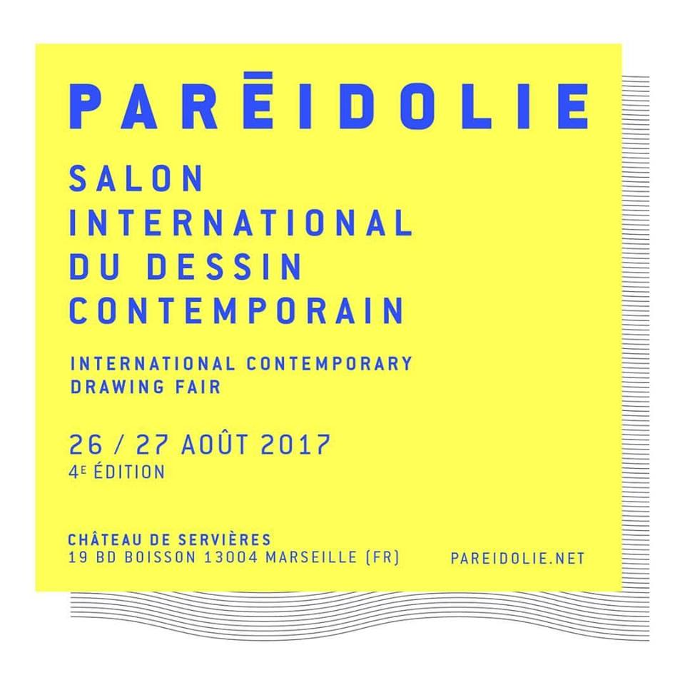 [PARTENARIAT] PARÉIDOLIE 4 Salon international du dessin contemporain à Marseille