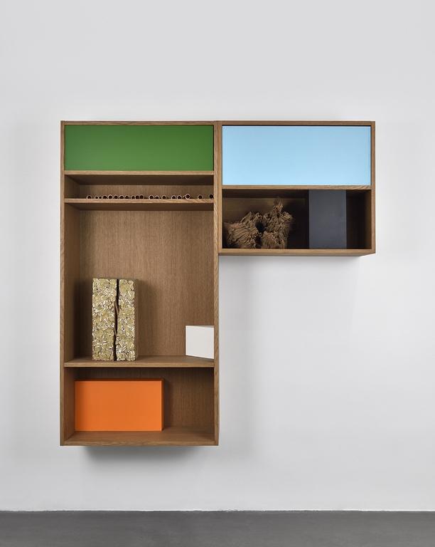 vues de l'exposition personnelleRevenir là où tout est résolu d'Isabelle Ferreira, Galerie Maubert Paris©Rebecca Fanuele
