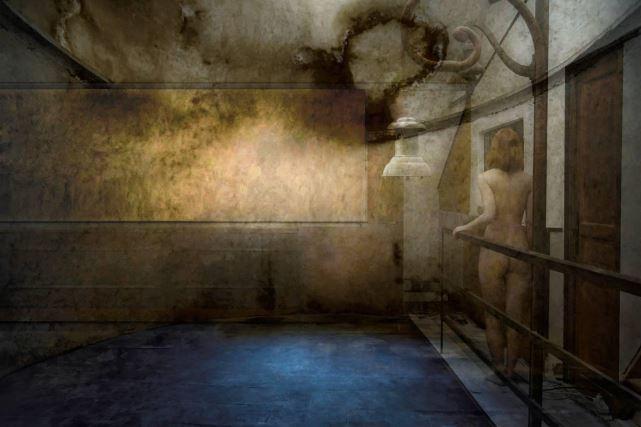 Gilles Desrozier – série – 14 Etats de la passion amoureuse, Extase Ivresse 60X90cm 2015