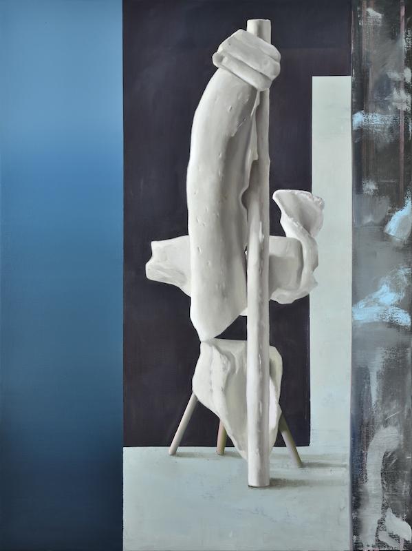 Maude Maris, France, 2017. Huile sur toile, 120 x 90cm. Courtesy Galerie Isabelle Gounod
