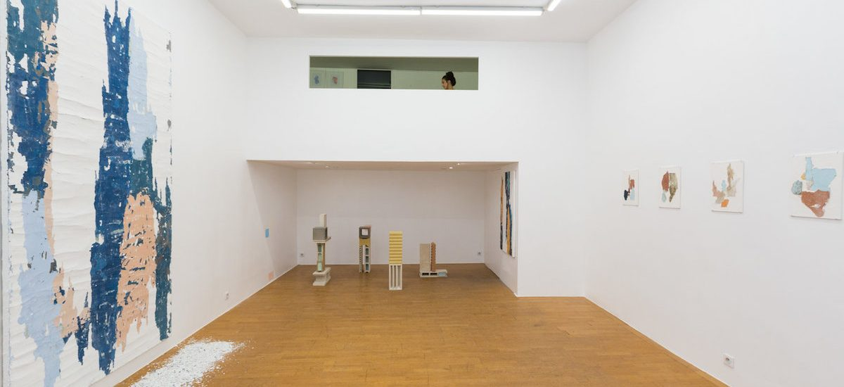 Manoela Medeiros, Falling walls, Double V Gallery Marseille [EN DIRECT DE L'EXPOSITION]