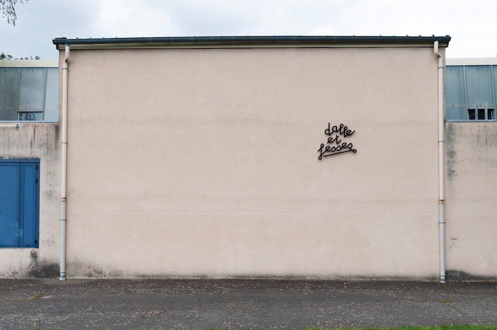 Julien Boucq, vue d'exposition Et le plancton, Le Volume, Vern-sur-Seiche. © Laurent Grivet
