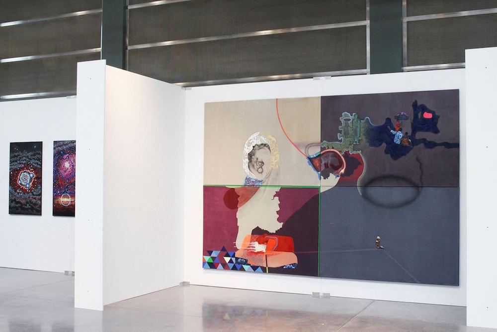 Vue d'exposition, Salon du CAL, Tramsschapp, Luxembourg, 2017 © Nina Tomàs