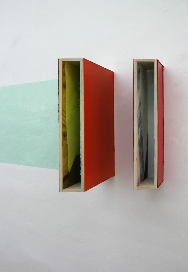 Benoît Géhanne, biais #14, 2014. Vue de l'exposition Niches, Galerie du Haut-Pavé. Courtesy artiste.