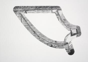 Benoît Géhanne, vue de l'exposition vendange tardive 2017, CAC Meymac, Circuit. Courtesy artiste.
