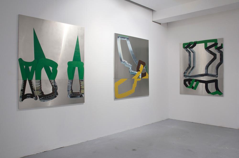 Benoît Géhanne, vue de l'exposition vendange tardive 2017, CAC Meymac, retenue 3, 1 et 4. Courtesy artiste.
