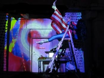 John Deneuve Performance Databitme, Arles, 2015