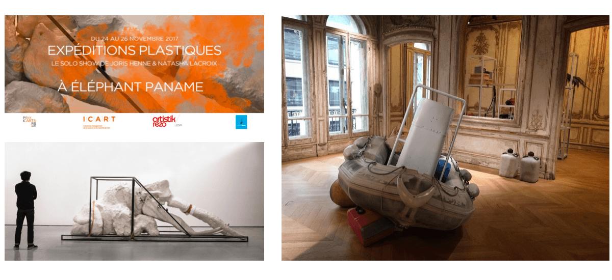 [FLASH ACTU] Joris Henne & Natasha Lacroix lauréats du Prix du Jury Icart Artistik Rezo 2017