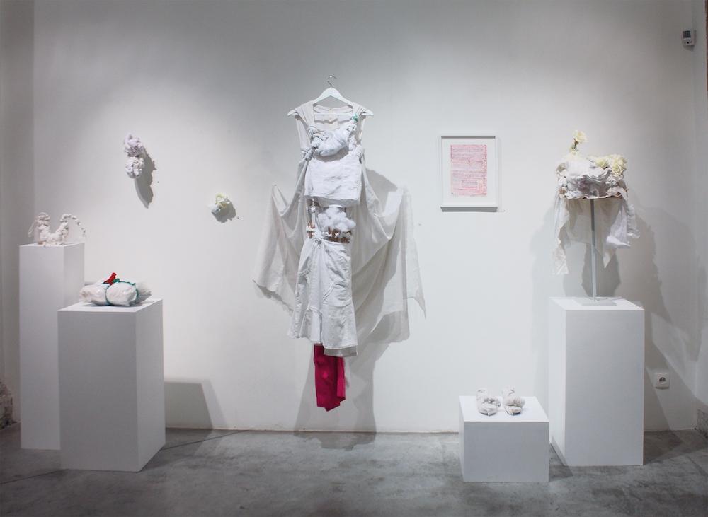 Vue de l'exposition Pascal Tassini, Nexus, Galerie Christian Berst art brut