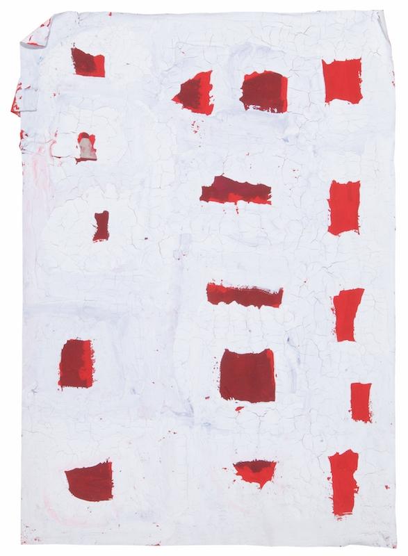 Pascal Tassini, sans titre, 2011. acrylique sur papier, 50 x 35.2 cm