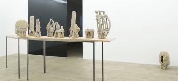 Rebecca Digne, exposition personnelle Tracer le vide © Galerie Escougnou-Cetraro