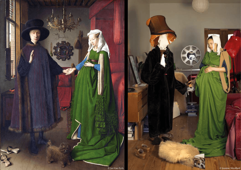 Jeanine Woollard, The Arnolfini wedding