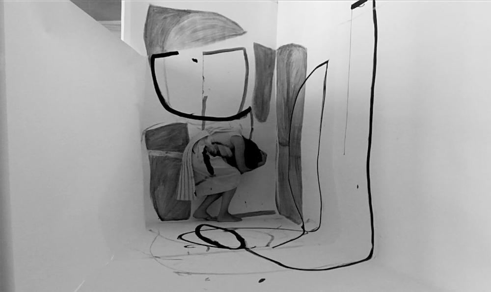 Caroline Denervaud, extrait vidéo Chambre, 2017 © Moving Art