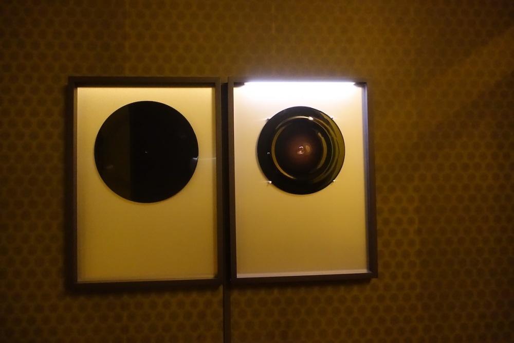 Vue d'exposition Cive, souffle sature & fusion perdue, Jérôme Poret, L'espace d'en bas. Photo Aurélie Jullien.