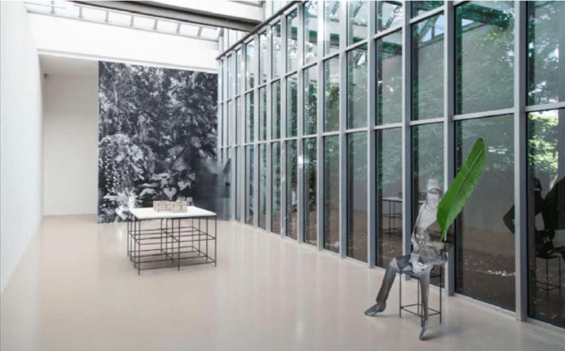 Daniel Otero Torres, Jardin, Vue de l'exposition Rendez-vous 15, Jeune création internationale / Biennale de Lyon, 2015.
