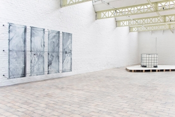 DELTA STUDIO ARTIST RUN SPACE Vue de l'espace d'exposition -Roubaix © Studio Delta