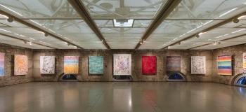 Suspensions, exposition personnelle de Melody Raulin, du 20 décembre 2017 au 28 janvier 2018, CITÉ DU TEMPS Genève