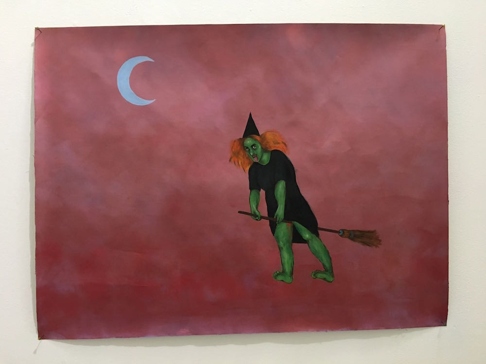 Elena Moaty, Sans titre, 2017. Courtesy artiste. Vue de l'exposition White Blood Blue Night CAC La Traverse. Photo Daniel Guionnet.