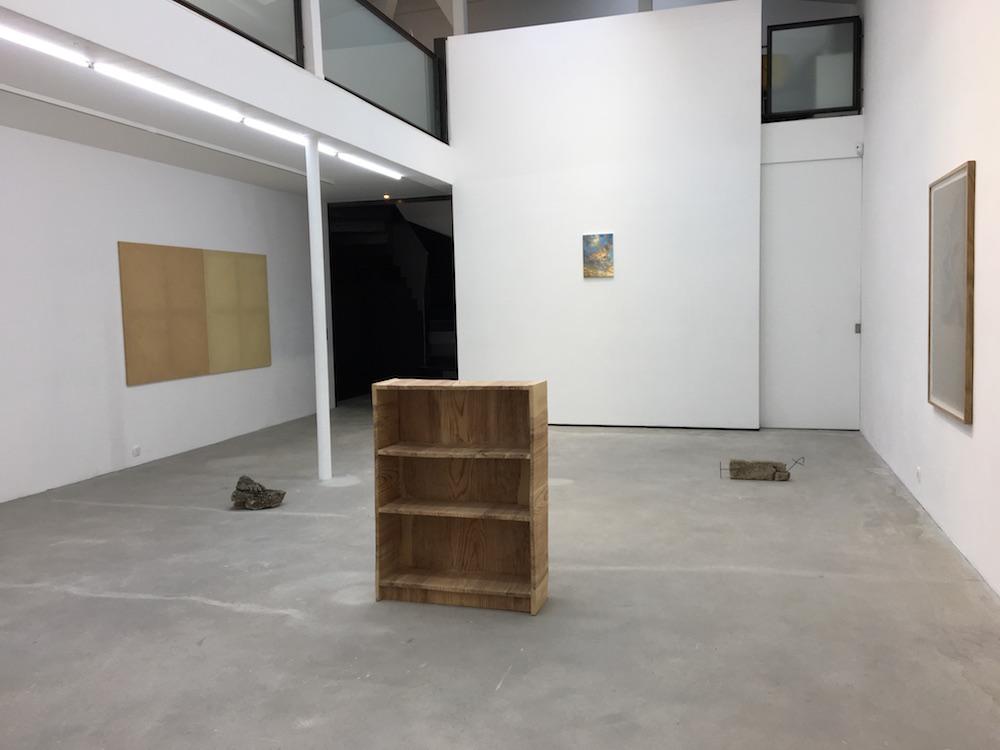Vue de l'exposition Olivier Kosta-Théfaine,Aria di Roma, Galerie Rabouan Moussion Paris