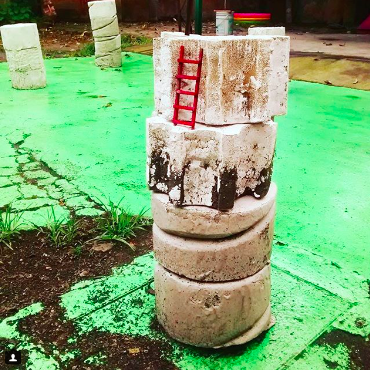 Caroline Schattling Villeval, Vue installation Chi Chi Chi, Biquini Wax Eps, Mexico Photo Instagram biquiniwax_eps