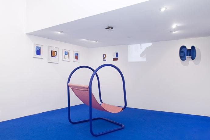 Vue d'exposition Shapes Body & Soul, Double V Gallery x PIECE A PART, commissariat Emmanuelle Oddo