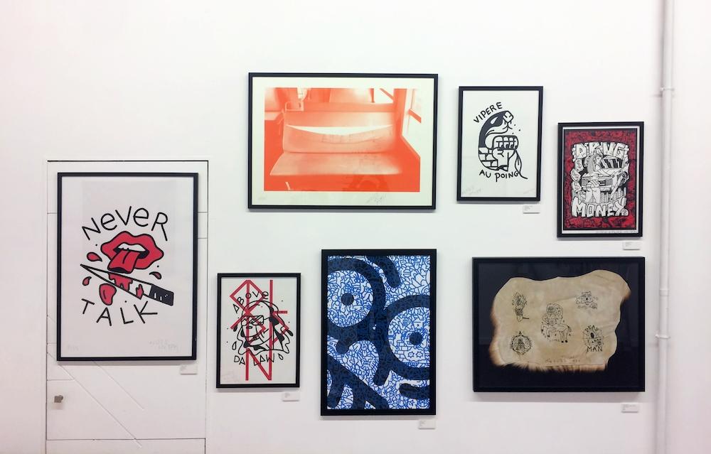 Fuzi, Enfant terrible, Galerie Slika, Lyon, Janvier 2018