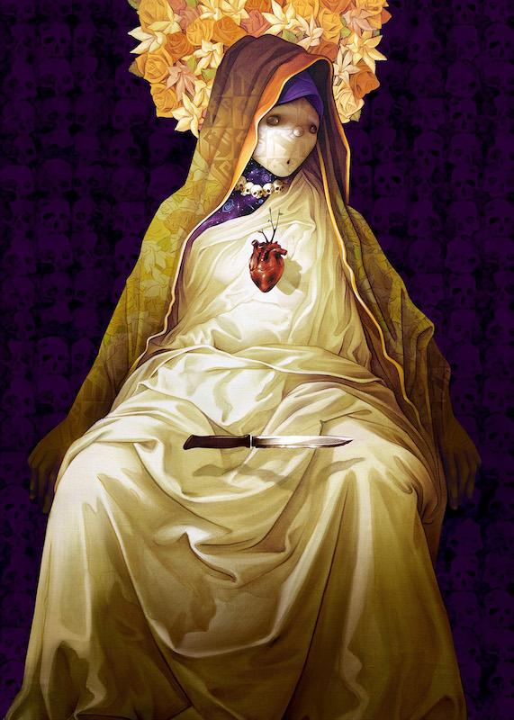 Inti, La Madre Secular 3 (print), 2017. 47 x 63 cm