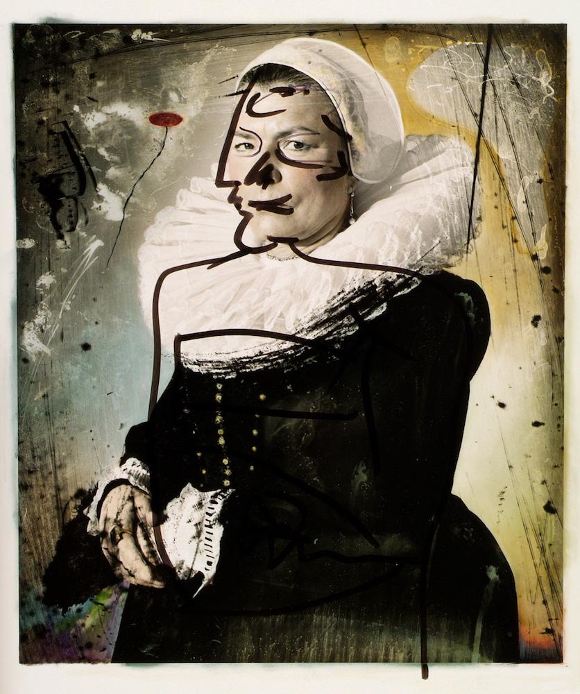 """Joel-Peter Witkin """"Eternity Past, Berlin"""", Photographie, Tirage argentique sur aluminium, 43,5 x 36,5 cm, 1998. Courtesy Galerie Baudouin Lebon."""