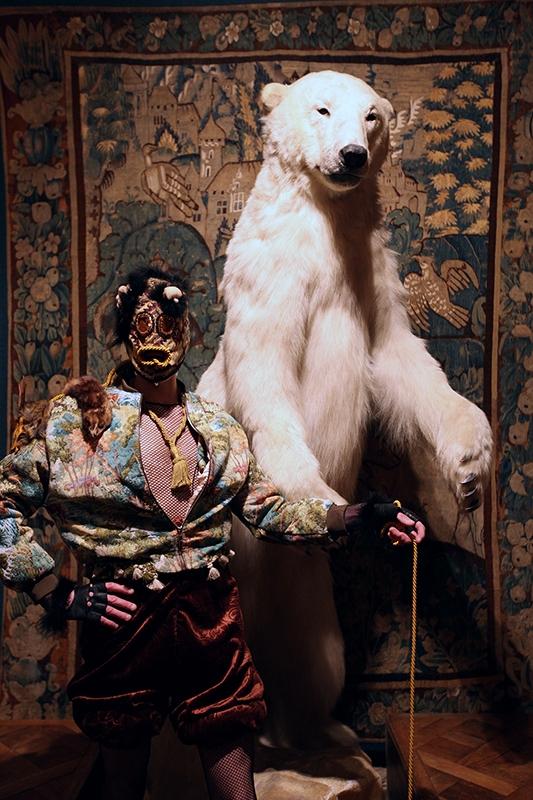 Nature morte © Mehryl Levisse - Fête de L'ours - 21 février 2018 - Musée de la Chasse et de la Nature.