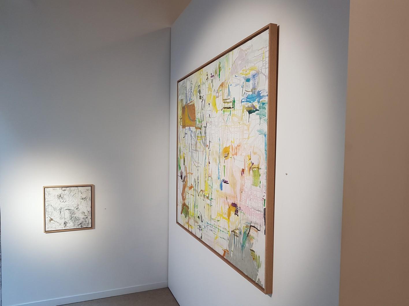 Vue d'expositionGuillaume Lebelle, Le hasard et La nécessité, Galerie Henri Chartier Lyon