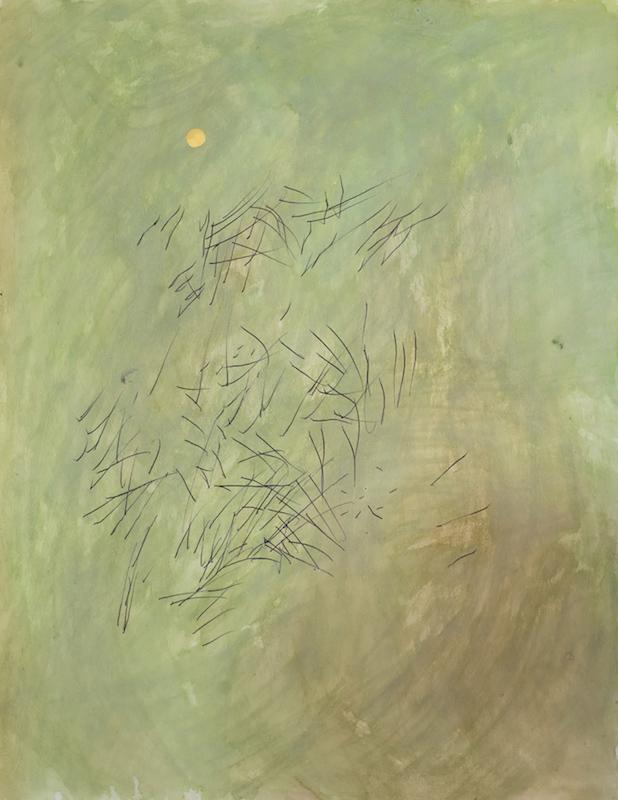 Hendrik Hegray, Nostrum, 2017 Aquarelle et stylo Bic sur papier 65 x 50 cm. Unique